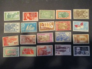 French Colonies / Area Assortment -  Hinged- (5D4) WDWPhilatelic #15