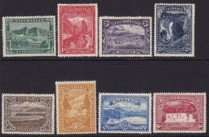 Tasmania Scott # 86 - 93 VF OG mint previously hinged cv $ 212 ! see pic !