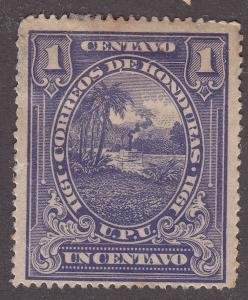 Honduras 131 Hinged 1911 Honduran Scene