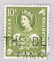 Kenya Uganda and Tanzania QE II 10 - pickastamp (AP101328)
