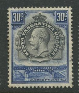 Kenya & Uganda - Scott 51 - KGV Definitive -1935 - MNH - Single 30c Stamp