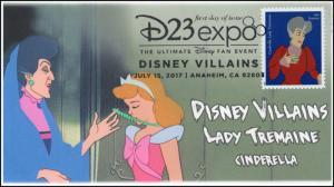 17-178, 2017, Disney Villains, Lady Tremaine, Cinderella, Pictorial, FDC