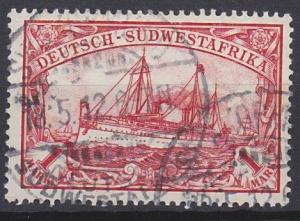 German South West Africa 22 used (1900)