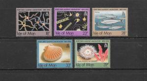 FISH - ISLE OF MAN #509-13  MNH