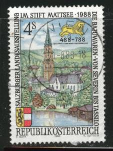 Austria Osterreich Scott 1430 Used 1988 stamp