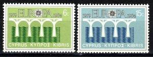Cyprus #625-6 MNH (SU8410)