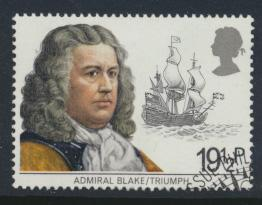 Great Britain  SG 1188 SC# 992 Used / FU with First Day Cancel - Maritime Her...
