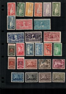 Nicaragua  27  diff used and mint lot collection