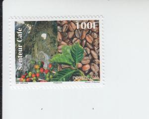 2015 Fr Polynesia Coffee Scented (Scott 1149) MNH