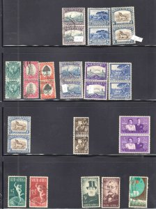 SOUTH AFRICA SWA COLLECTION LOT x57 $104 STATED FOR 4 ITEMS AS SHOWN 4 PAGES