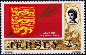 Jersey. 1970 4 1/2p S.G.49a Unmounted Mint
