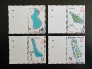Kiribati #487-90 Mint Never Hinged (N7M0) WDWPhilatelic 2