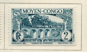 Middle Congo 1933 Early Issue Fine Mint Hinged 2c. 324741