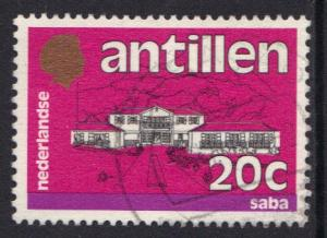 Netherlands Antilles 1983 used standaardserie 20 ct  #