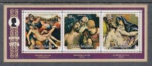 Cook Islands 444a Easter Souvenir Sheet MNH VF