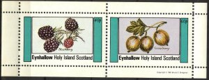 {E215} Eynhallow Scotland Fruits Berries (3) Sh.2 MNH Cinderella !!