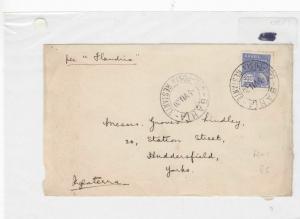 Brazil 1930 stamp cover Ref 9010