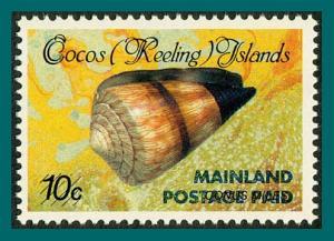 Cocos 1990 Surcharge 43c (1st), MNH 228,SG234