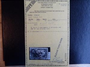 Reduced Germany 1920   Sc# 102  PF certificate  CV$ 3750.00