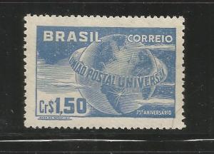 BRAZIL, 691, MINT HINGED, UPU