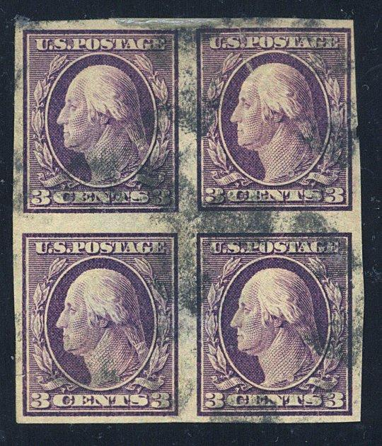 345 USed Block F-VF badly thinned repaired tears Cat$110