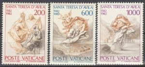 Vatican City #710-12 MNH F-VF  (V4290)