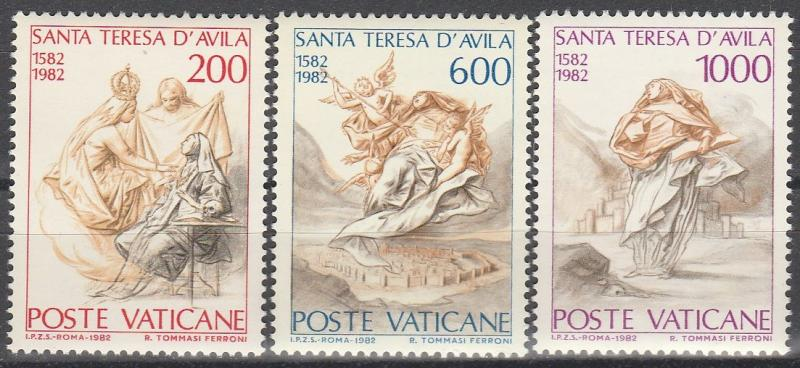 Vatican City #710-12 MNH F-VF  (V4290)