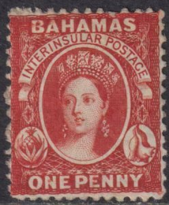 Bahamas 1862 SC 8a Mint