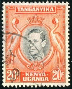 British East Africa Sc#74 Used