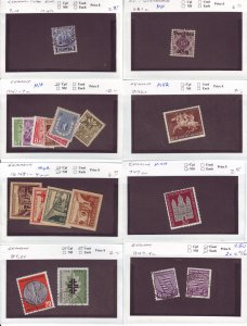 Z629 JL stamps germany mnh/mh/used on sales cards, check scan, all checked sound