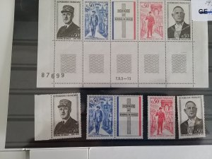France collection General de Gaulle 1971