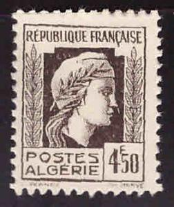 ALGERIA Scott 185 MH* stamp
