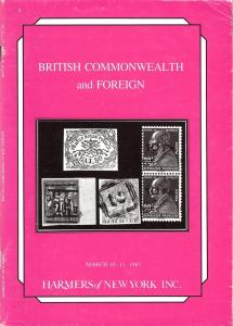 British Commonwealth and Foreign, Harmer NY 2777-78