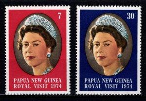 Papua New Guinea 1974 Royal Visit, Set [Mint]