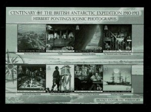 British Antarctic Territory: 2010 British Antarctic Expedition Centenary 2 M/S