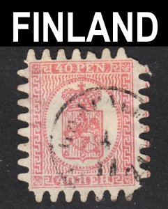 Finland Scott 10 F+ used.