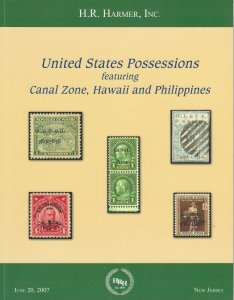 United States Possessions, H.R. Harmer, New Jersey, Sale 2976, June 20, 2007