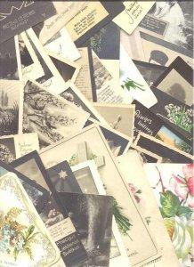 Latvia 182 used greeting cards pre-1945