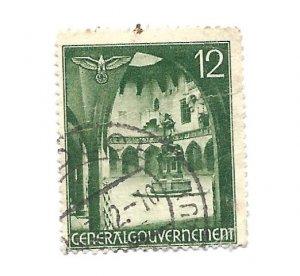 Poland 1940 - Scott #N60 *