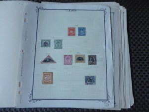 Liberia 1892-1976 Stamp Collection on Scott International Stamp Album Pages