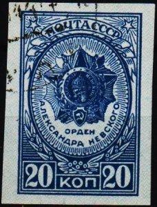 Russia. 1944 20k  S.G.1052 Fine Used