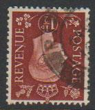 GB George VI  SG 464wi Used  wmk inverted