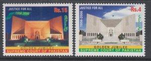 Pakistan 1077-1078 MNH VF