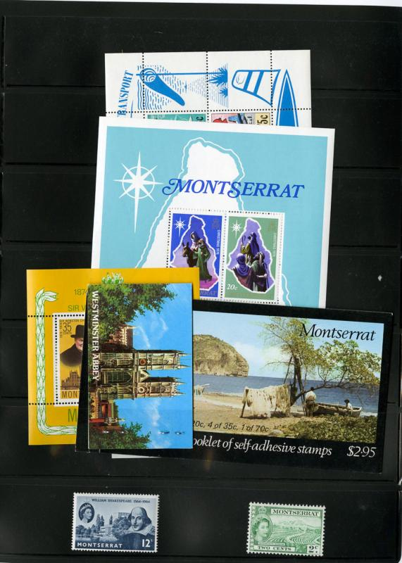 Montserrat Stamps Mint NH Collection