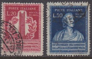 Italy 526-527 used (1949)