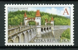Czech Republic 2019 MNH Les Kralovstvi Dam Reservoir 1v Set Architecture Stamps