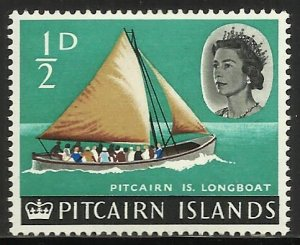 Pitcairn Islands 1964 Scott# 39 MH