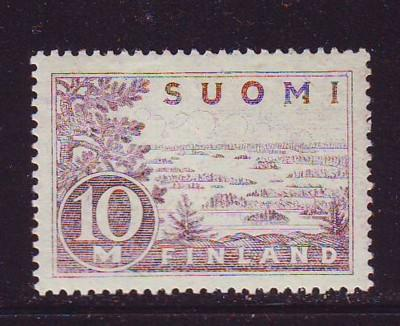 Finland Sc 178 1930 10m Lake Saima stamp mint NH