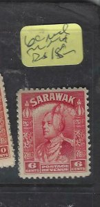 SARAWAK JAPANESE OCCUPATION  (PP0105B) BROOKE OVAL REVENUES 6C RED   MNH