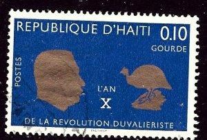 Haiti 572 Used 1967 issue    (ap3796)